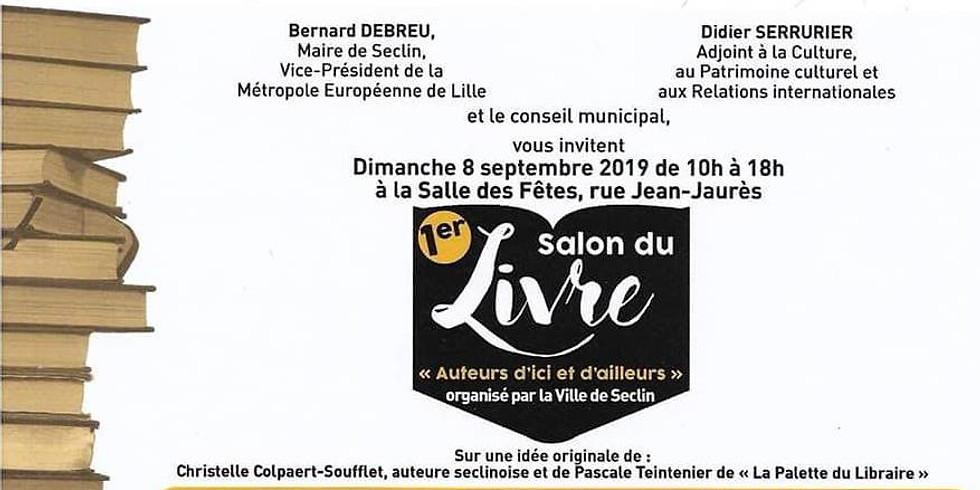 8 sept 2019 - 1er SALON DU LIVRE DE SECLIN - Rencontres & Dédicaces