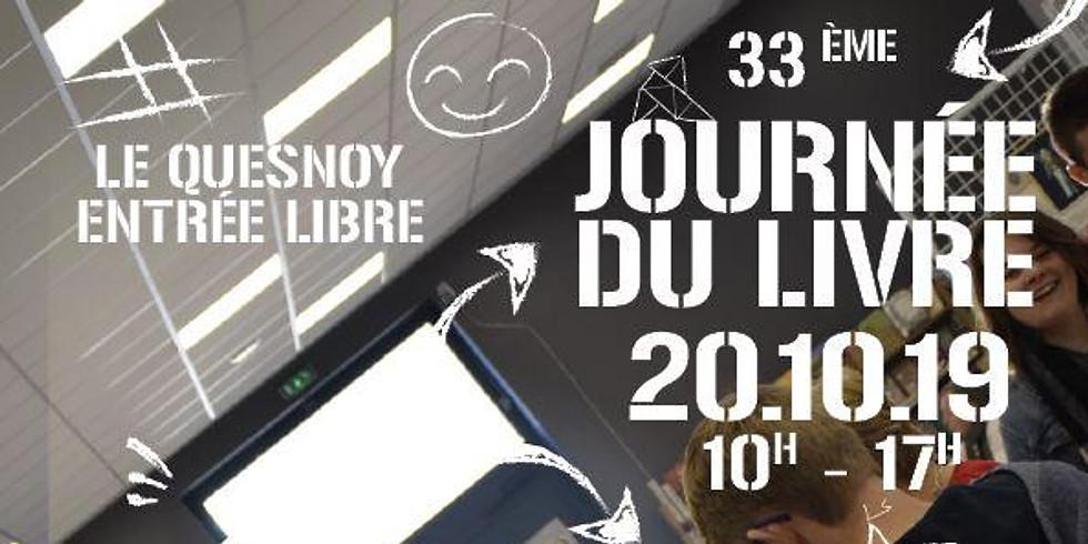 20 octobre 2019 - SALON DU LIVRE DE LE QUESNOY - Rencontres & Dédicaces