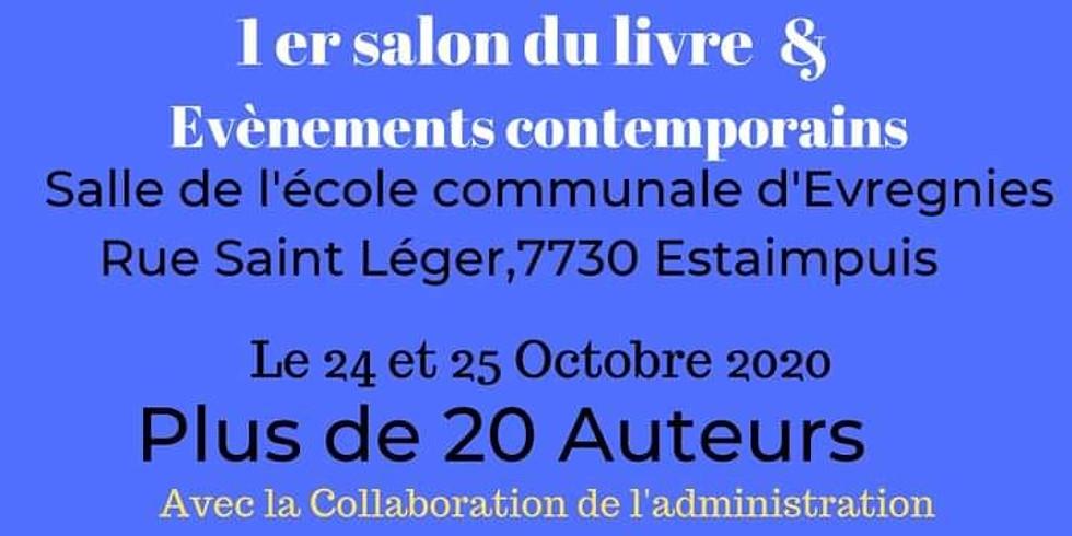 24 & 25 octobre 2020 - Salon du livre d'Estaimpuis (Belgique)