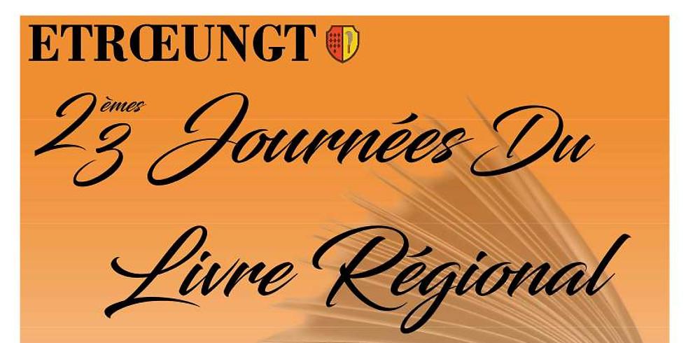 23è Journée du livre régional d'ESTROEUNGT