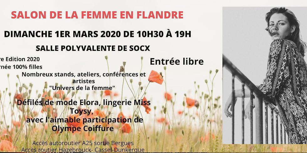 Dimanche 1er Mars 2020 - Salon de la Femme en Flandre - Rencontres et Dédicaces