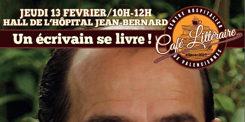 Jeudi 13 février - Café Littéraire CH de Valenciennes - Hall de l'hôpital Jean Bernard