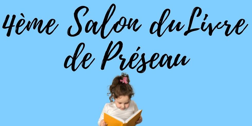 Samedi 16 mai 2020 - SALON DU LIVRE DE PRÉSEAU - Rencontres & Dédicaces