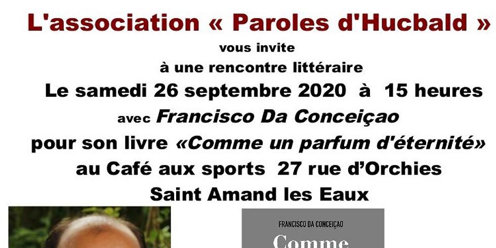 Samedi 26 septembre 2020 - Café Littéraire - Paroles d'Hucbald