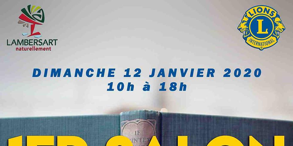 Dimanche 12 janvier 2020 - 1er Salon du livre de Lambersart