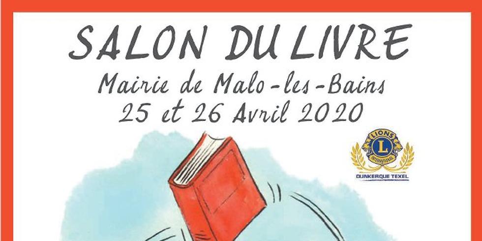 25 et 26 avril 2020 - Salon du livre de Malo les Bains,