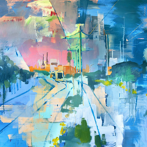 """""""View of Karjamaa"""" print"""