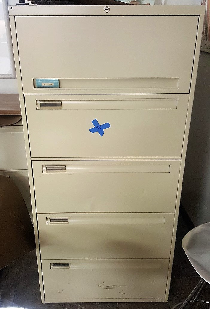 Five Drawer Lateral Filing Cabinet Cdwrva