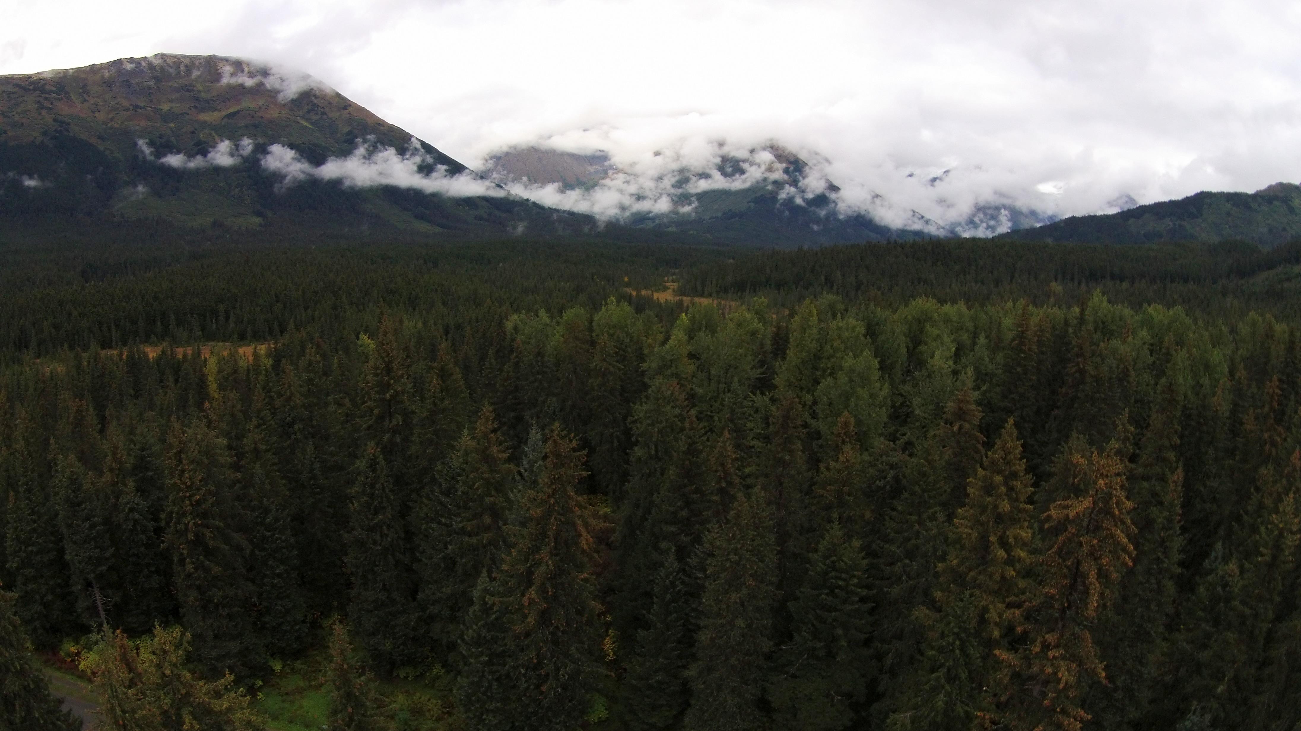 Горы и ледники