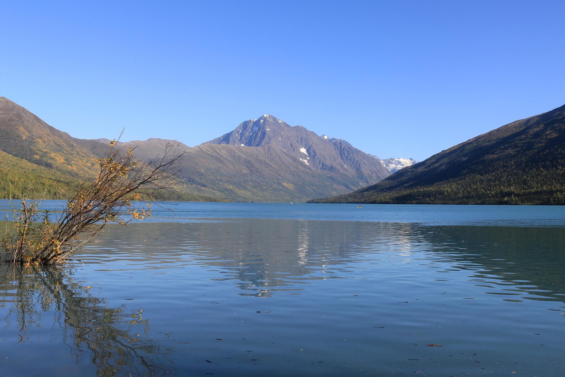 Озеро Эклутна