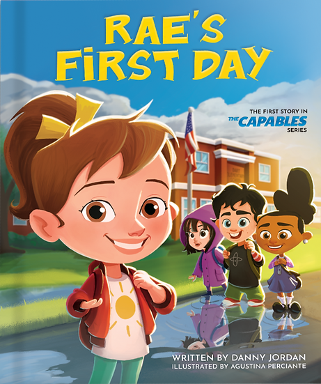 Rae's First Day (Signed Copy)