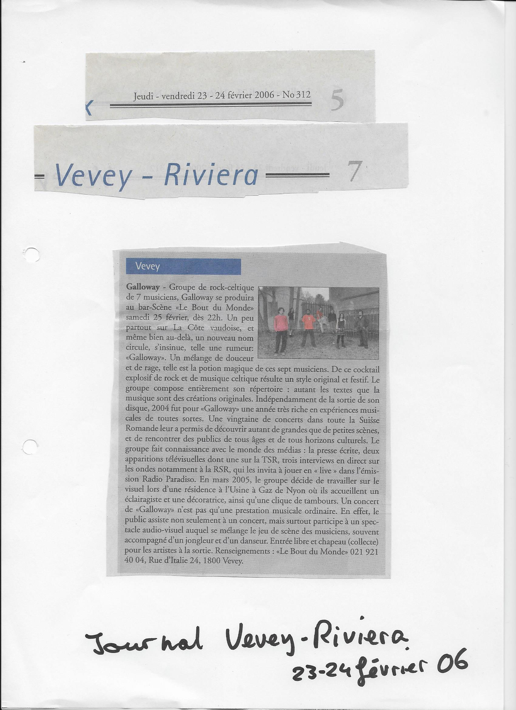 Vevey-Riviera, 23.02