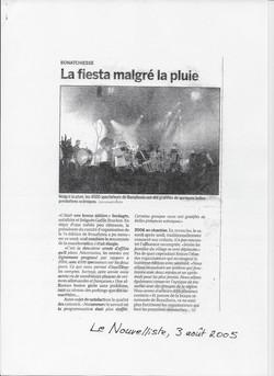 Le Nouvelliste, 03.08