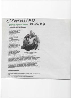 L'Express, 22.10