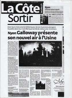 La Côte, 10.09