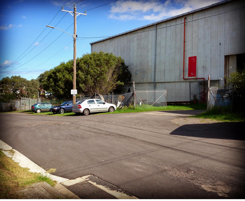 Warehouse Exterior No Through Rd