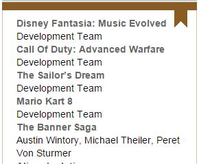 BAFTA Nomination!