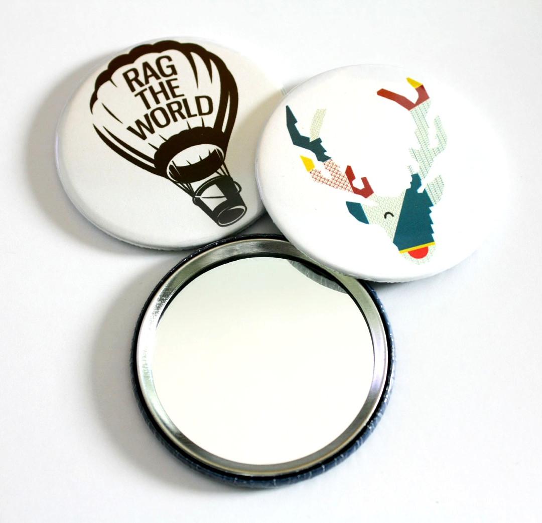 Custom Pocket Mirrors