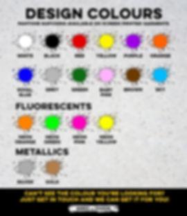 Custom Hoody Design Colours