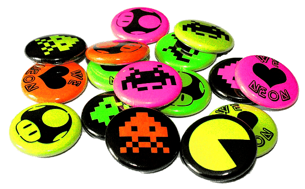 Custom Neon Badges