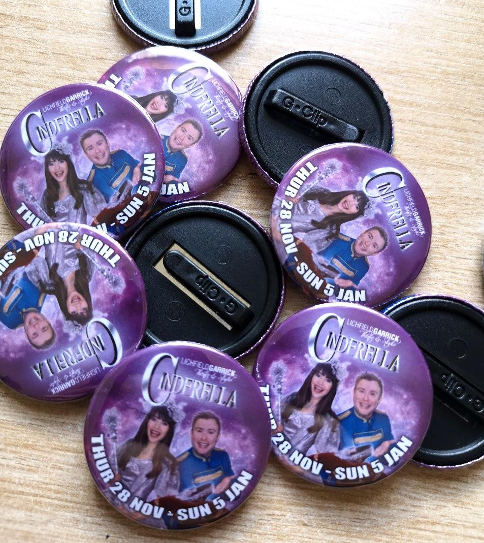 Custom Child Safe Badges