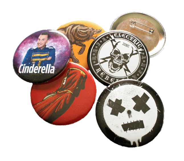 Large Custom Badges