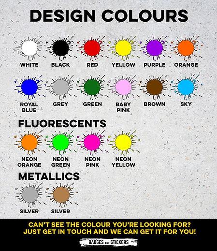 Custom Cap Design Colours