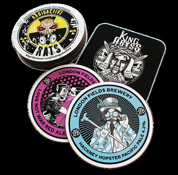 Custom Printed Coasters