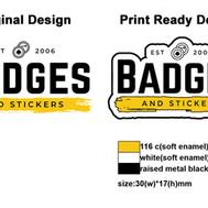 Soft Enamel Pins Design