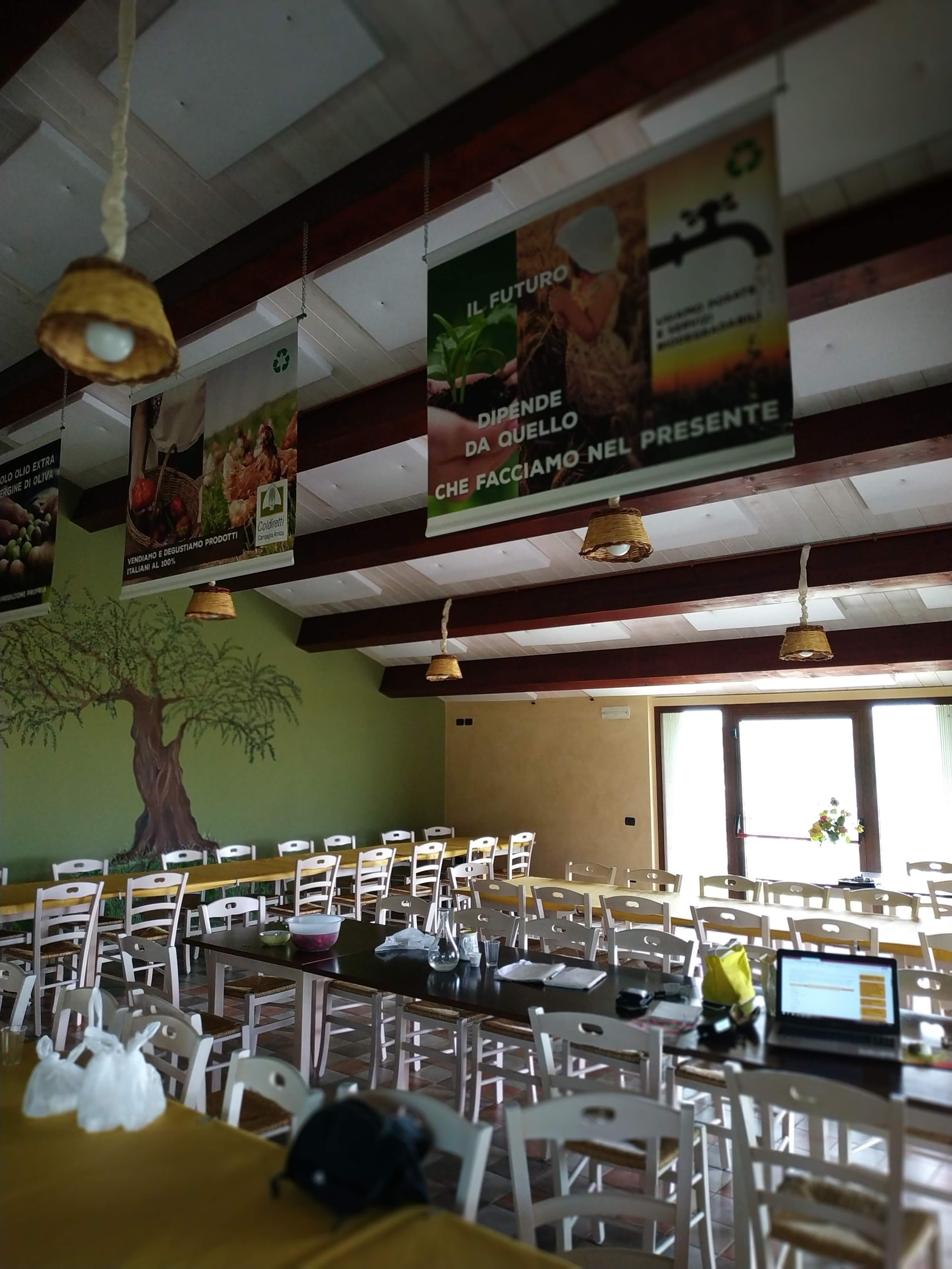 interno Azienda Agricola Abbruzzetti