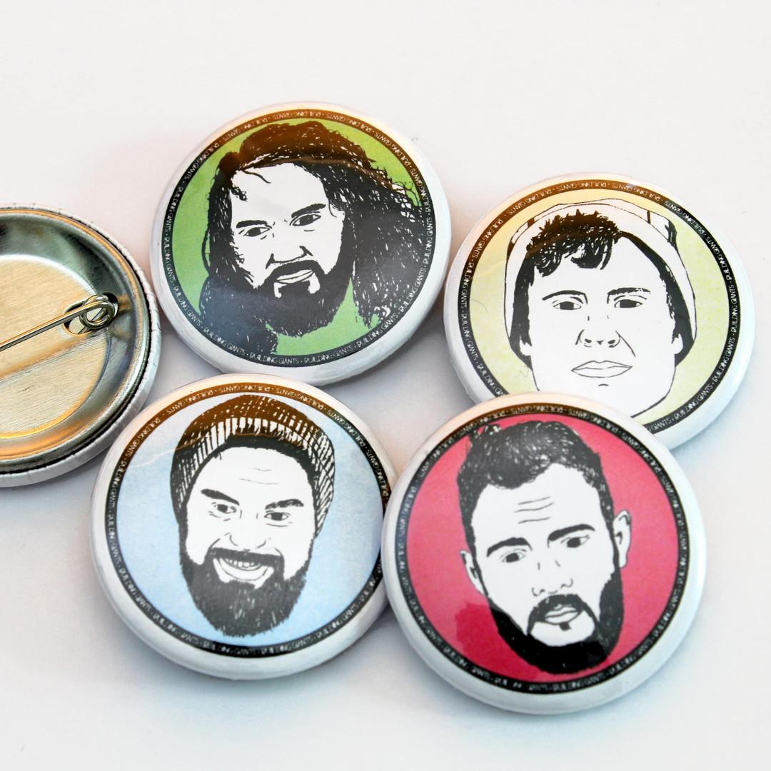 Custom 32mm Badges