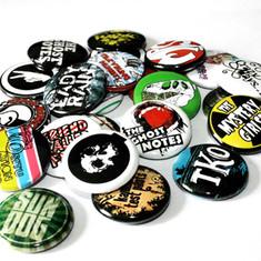25mm Badges