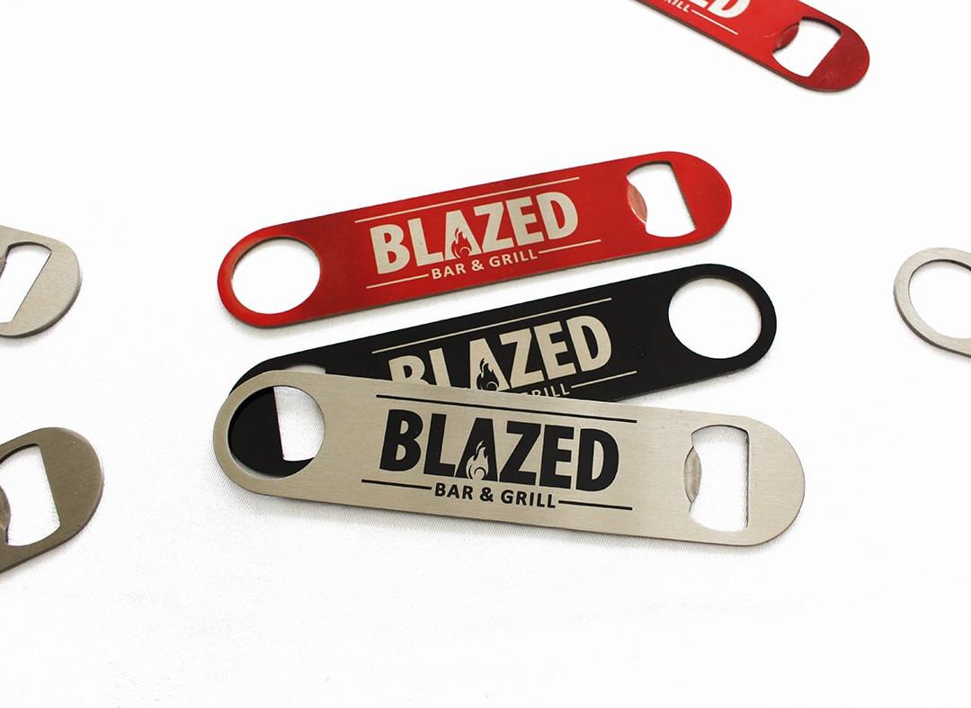 Printed Bar Blades