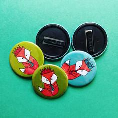 Printed Kids Badges
