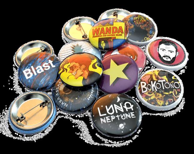 Custom Printed Badges