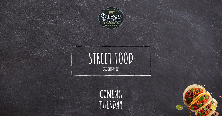 street food menu