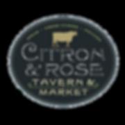 citron and rose tavern logo