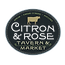 citron and rose tavern logo