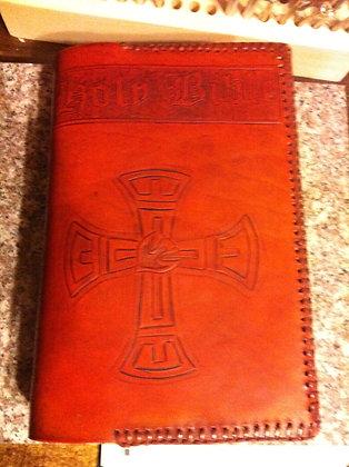 Aztec Cross Bible COver