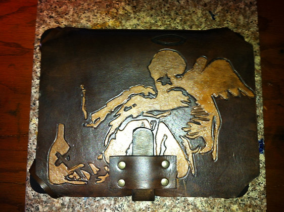 """Banksy"" inspired iPad Case"