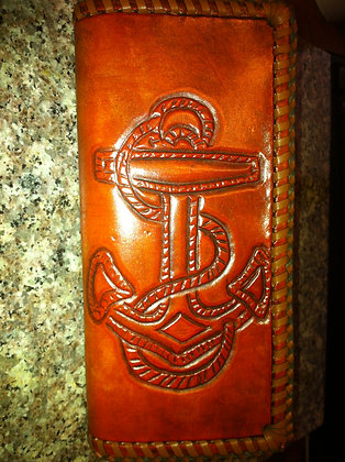 """Fouled Anchor"" Roper Wallet"