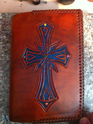 Spanish Cross Bible Cover