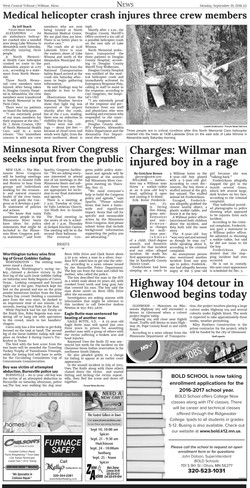 09192016MRC Regional Policy Meetings article West Central Trib