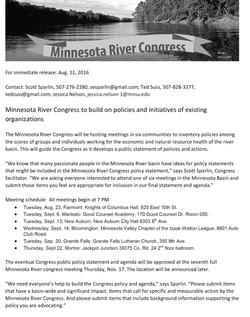 08112016News-MN River Congress seeks policy input-1