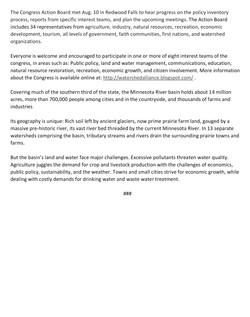 08112016News-MN River Congress seeks policy input-2