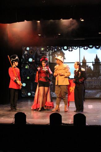 "Baroness Bomburst ""Chitty Chitty Bang Bang"" Post Playhouse"