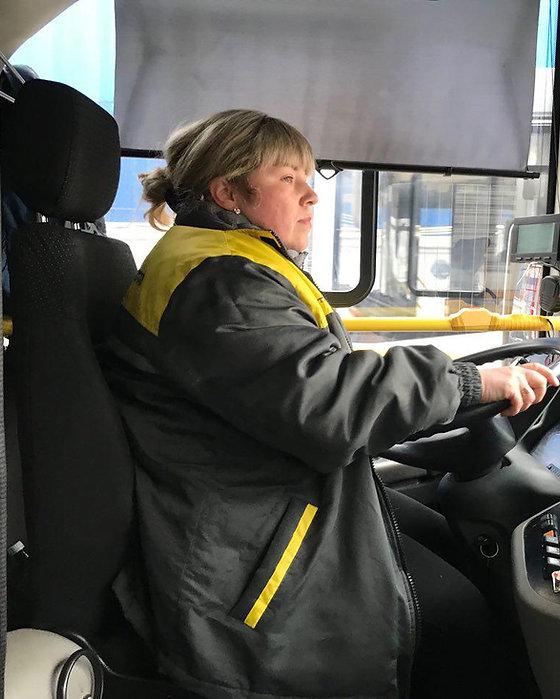 Водитель автобуса Мострансавто