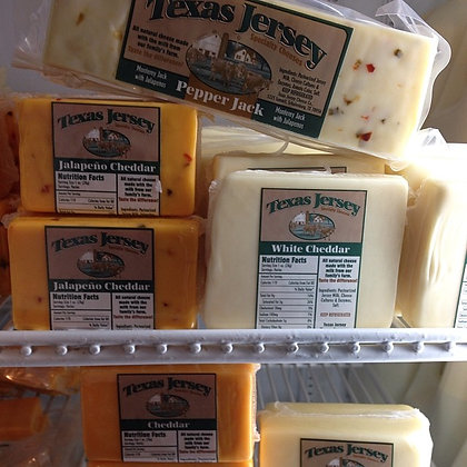 Texas Jersey Cheese 8 oz size