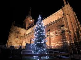 St Magnus Christmas tree from Norway