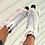 Thumbnail: Rookie Artistic Roller Skates - White